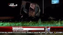 Big Rig Crash Closes Highway In Lancaster