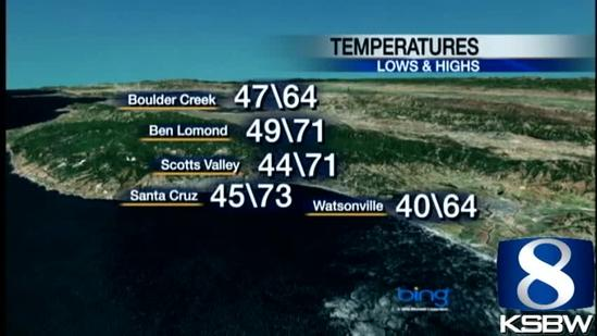 Watch Your KSBW Weather Forecast 05.23.13