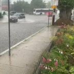 Deluge Causes Roadway Flooding in Coastal Rhode Island