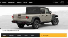 2020 Jeep Gladiator configurator is live for you to play with