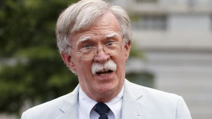 WH aide: Bolton, Trump met privately over withheld aid