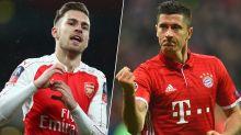 Gossip: Chelsea 'launch £30m bid' for Arsenal's Ramsey, Man United 'target' Lewandowski and Mina plus Pogba update