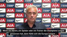 Mourinho vergleicht Europa League mit Formel 2