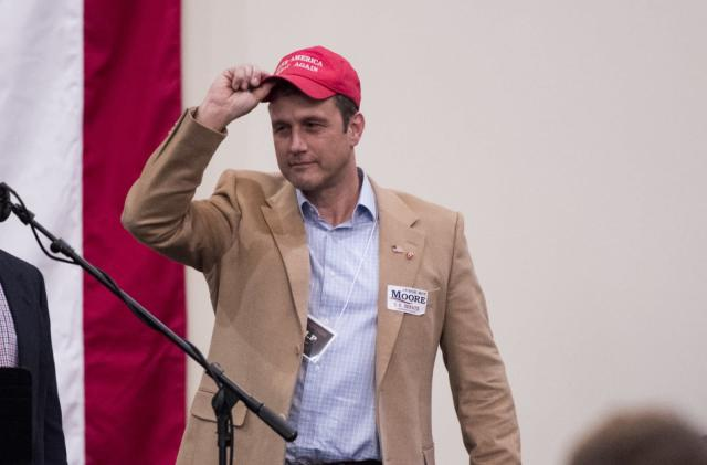 Twitter bans Congressional candidate after racist image