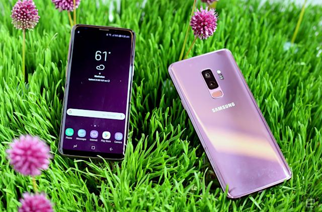 Microsoft is selling customized Samsung Galaxy S9 phones (updated)
