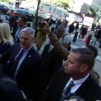 Giuliani associates Parnas and Fruman arrive for arraignment