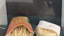 McDonald's-Burger wurde 10 Jahre in Vitrine aufbewahrt – so sieht er aus