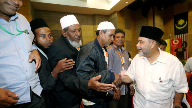 14 Rohingya community leaders elected to uphold the community's interests in Malaysia