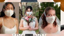 Máscara para noivas na pandemia: veja diversos estilos para o acessório
