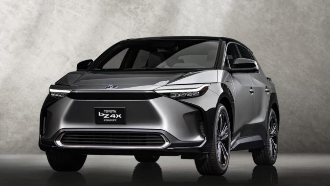 Toyota bZ4X BEV concept SUV