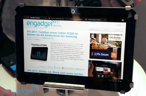 Toshiba AT200 hands-on (video)