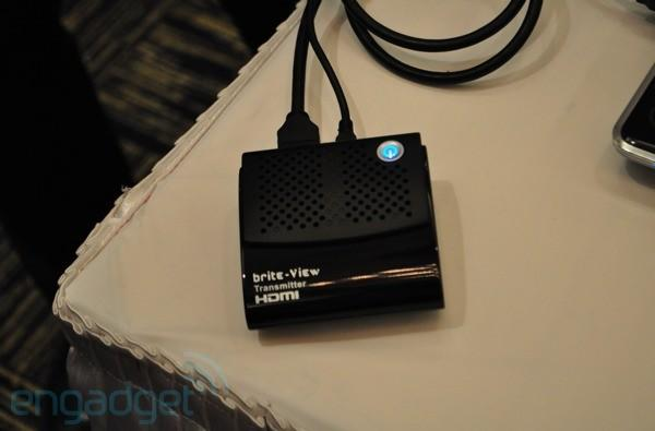 Brite-View HDelight brings WHDI to laptops and netbooks