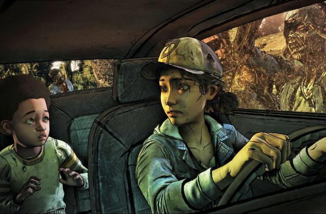 Raising a child in the final season of Telltale's 'Walking Dead'