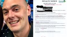 Dad grades school letter after he's fined for son missing class