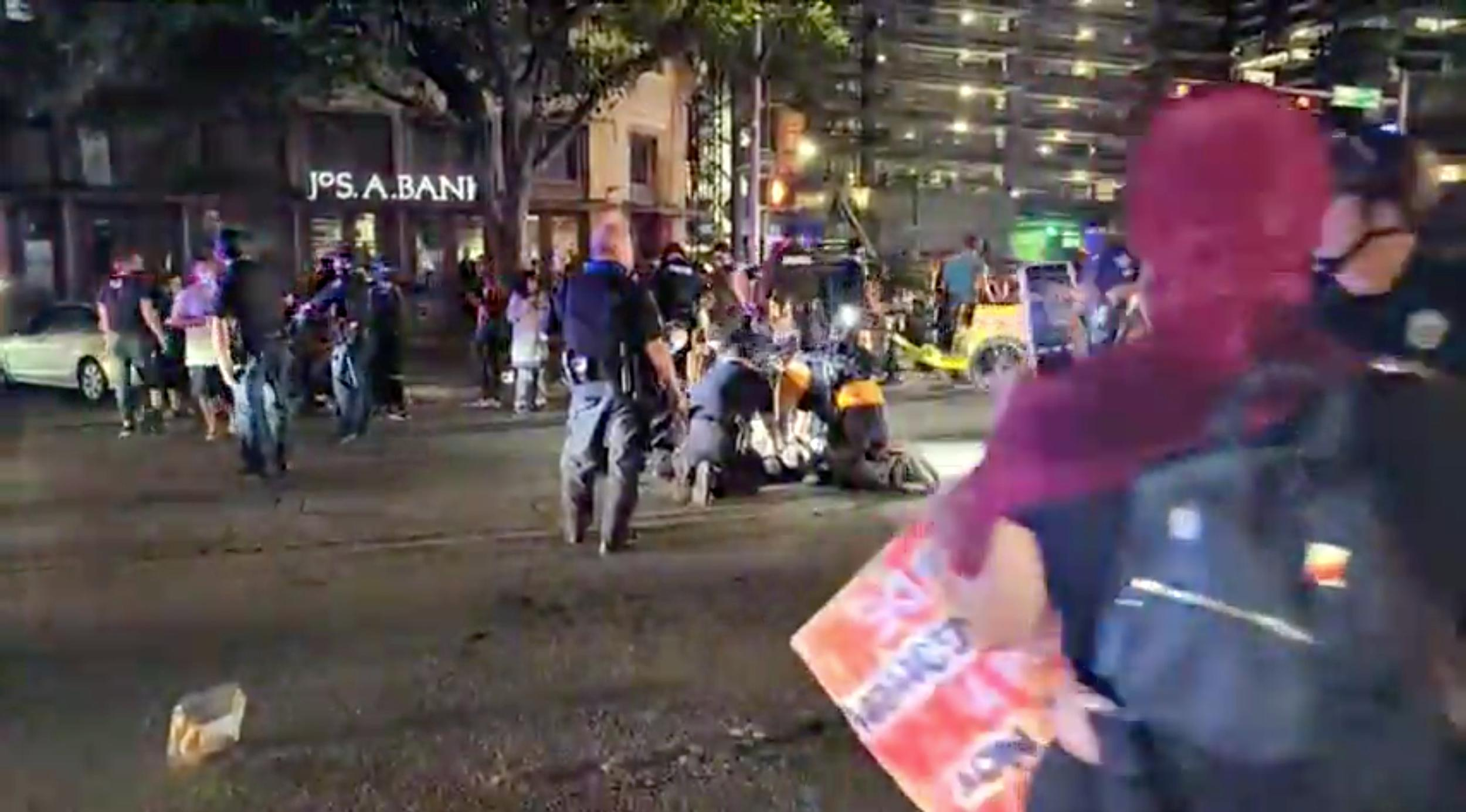 Witness: Driver gunned down armed protester in Texas capital