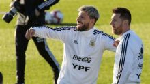 """¡Messi """"retó"""" al Kun Agüero en medio de una transmisión en vivo!"""