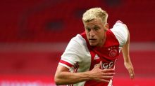Donny van de Beek: Manchester United sign Dutch midfielder from Ajax for initial £34m
