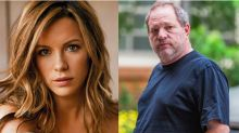 Kate Beckinsale se une a la lista de víctimas de abuso sexual de Harvey Weinstein