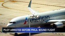 American Airlines flight canceled after pilot arrested on suspicion of being drunk