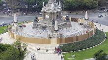 Mexico City assesses monument damage after anti-rape march
