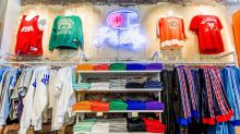Shoppers can customize athletic wear at this Champion store