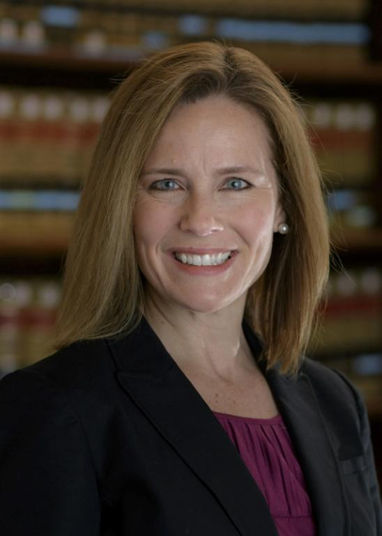 Catholic judge Amy Coney Barrett, who was told by Senator Dianne Feinstein. 'The dogma lives loudly in you'