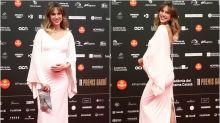El embarazo de Aina Clotet, protagonista en los premios Gaudí 2019
