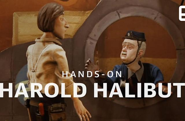 'Harold Halibut' is a delightfully quirky narrative adventure.
