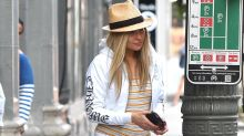 Kate Hudson Covers Her Buzz Cut With a Blonde Wig While Filming 'Sister' With Sia: Pics!