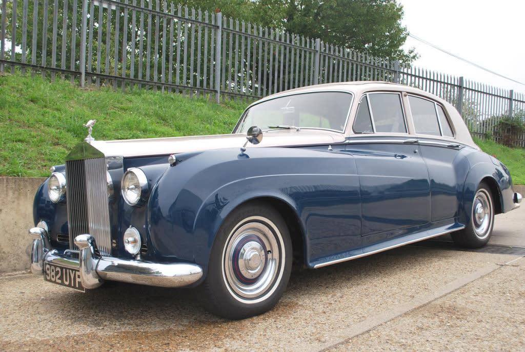 泰國皇室用車出現英國,1960年ROLLS-ROYCE Silver Cloud拍賣