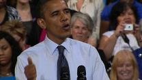 """Obama on jobs report: We've come """"too far to turn back now"""""""