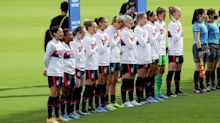 Crystal Dunn explains why USWNT stood for national anthem ahead of Brazil match
