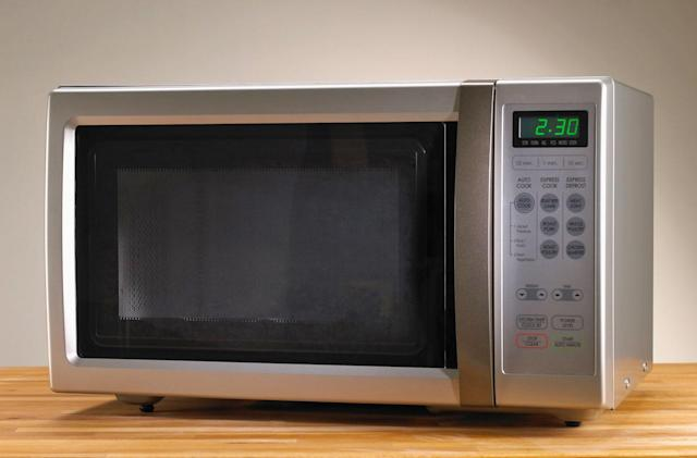 No, Kellyanne, microwaves cannot turn into cameras
