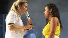 Claudia Leitte se irrita e dá bronca em fã durante show