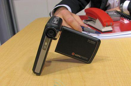 Agfaphoto DV-5000G game-playing camera hands-on