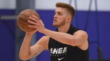 Meyers Leonard, once a starter, now out of Heat's rotation