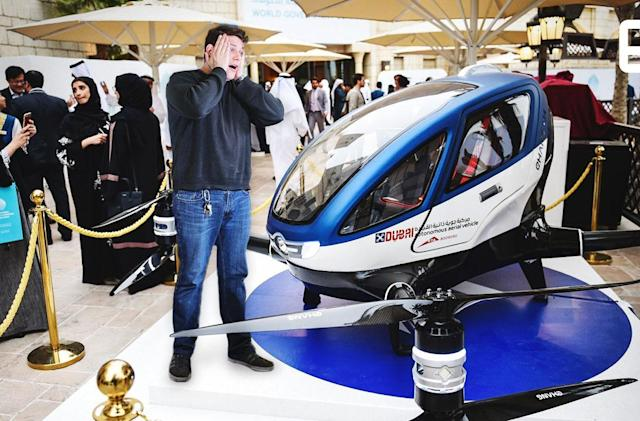ICYMI: Microsoft's drone simulator and Dubai's hover taxis