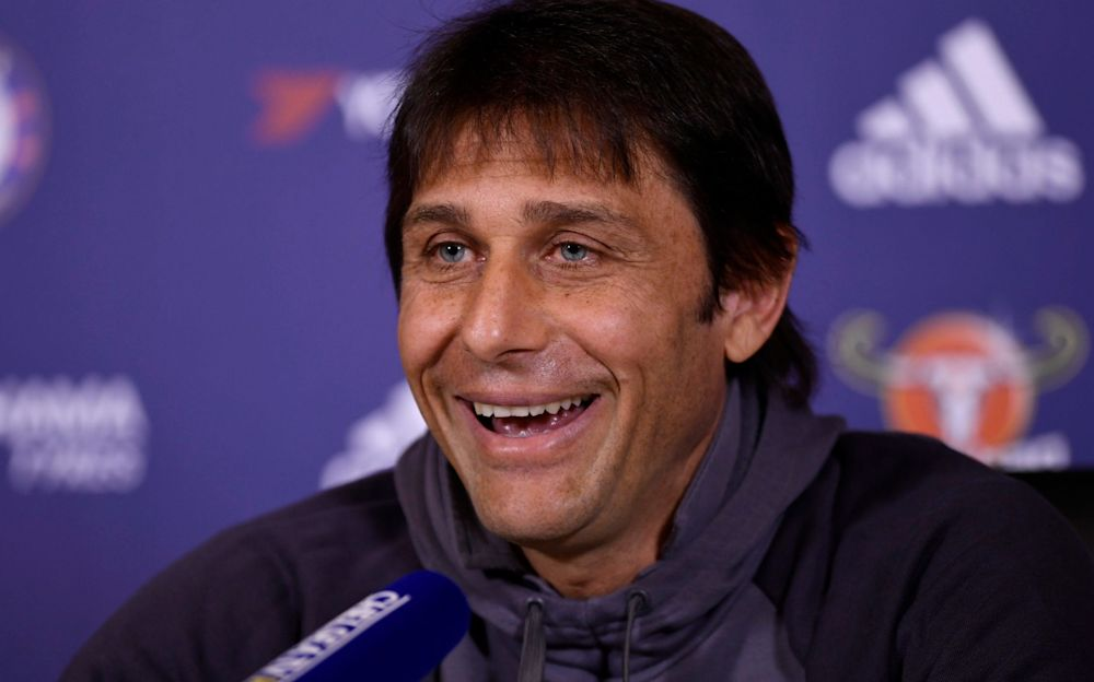 Antonio Conte has had a hugely impressive first season in British football - REUTERS