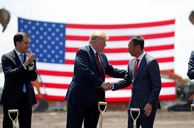 Foxconn says it won't staff Wisconsin plant with workers from China