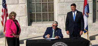 DOJ: Missouri governor can't void federal gun laws