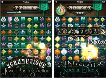 Daily iPhone App: Cruel Jewels is pure match-3 bliss