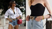 12款名牌Logo皮帶推薦:Gucci、Fendi、Valentino皮帶簡單搭配白T恤也能貴氣起來!