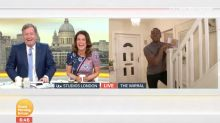 Watch: Andi Peters made a hilarious Liam Neeson gag on GMB and people can't handle it