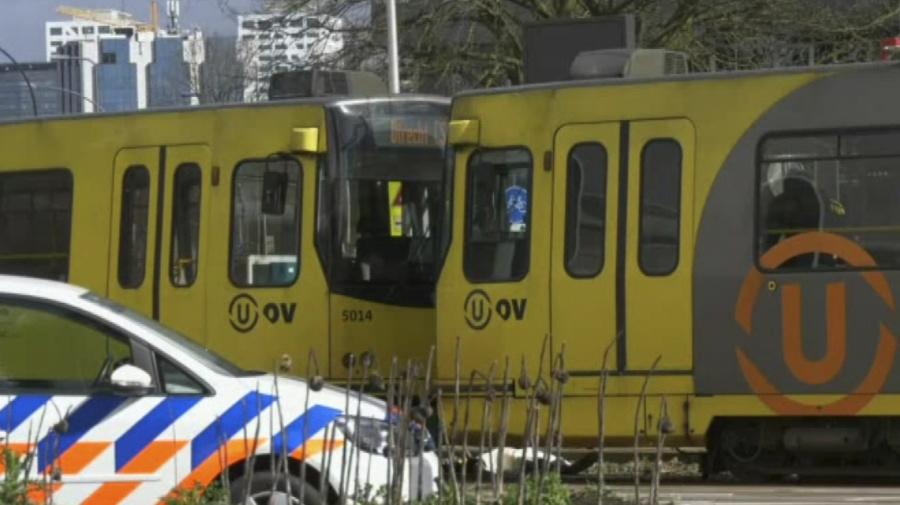 Utrecht police: 1 dead after man opens fire on tram