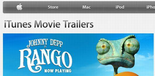 Why Apple.com hosts movie trailers