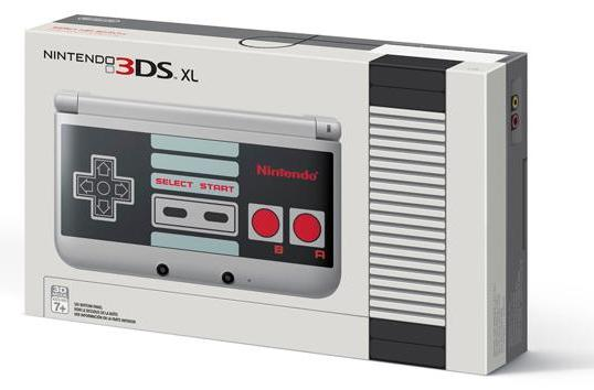 Nintendo's latest 3DS XL edition plays on your nostalgic side