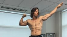 Mark Wahlberg Abs-olutely Ecstatic Over LeBron James' L.A. Arrival
