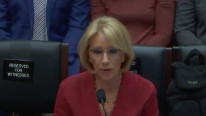 DeVos: Obama 'weaponized' rules for defrauded students