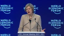 May sells Brexit 'momentous change'