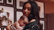 Shay Mitchell Says Many Of The People Mom-Shaming Her Are Mothers Themselves